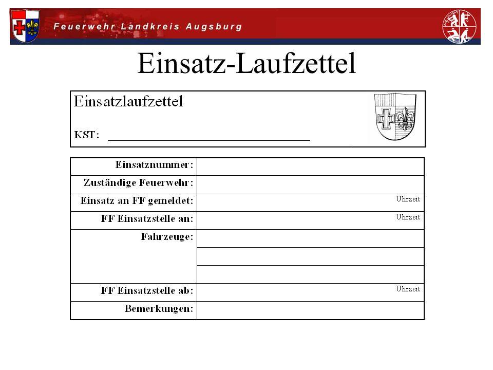 Sammelbericht an EZ