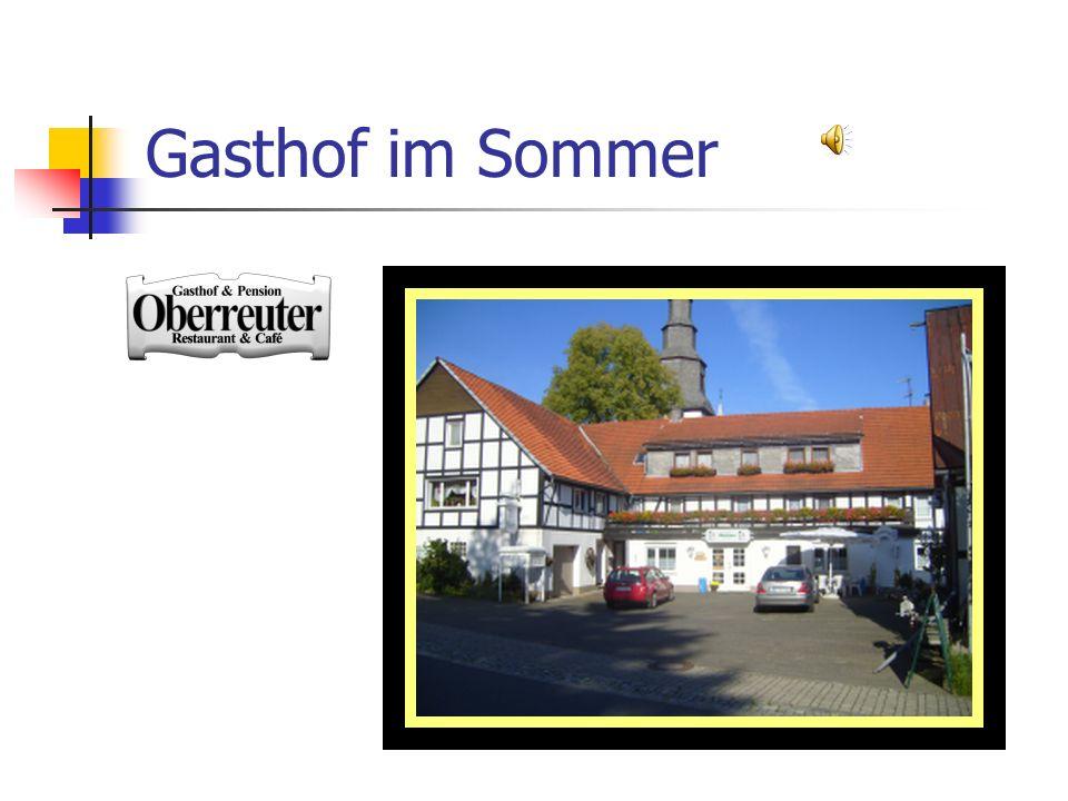 Gasthof im Sommer