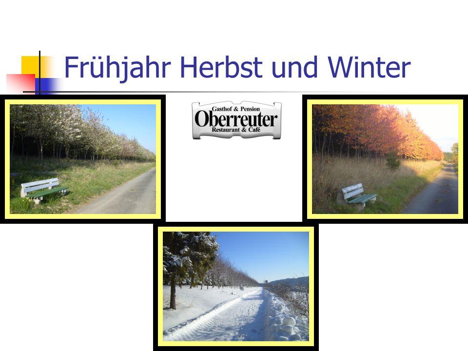 Frühjahr Herbst und Winter