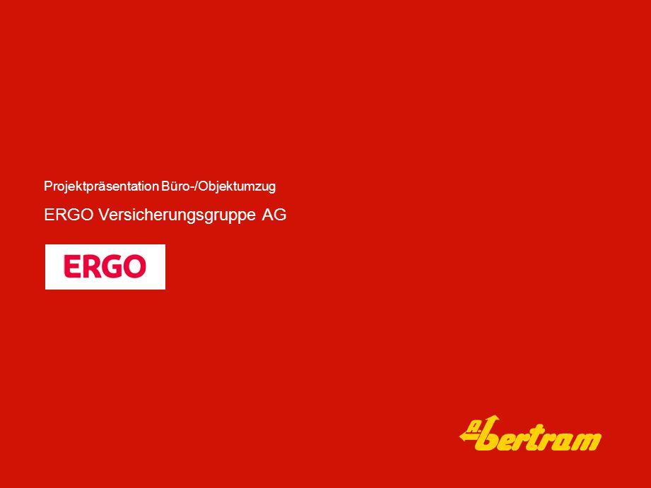 ERGO Versicherungsgruppe AG Projektpräsentation Büro-/Objektumzug