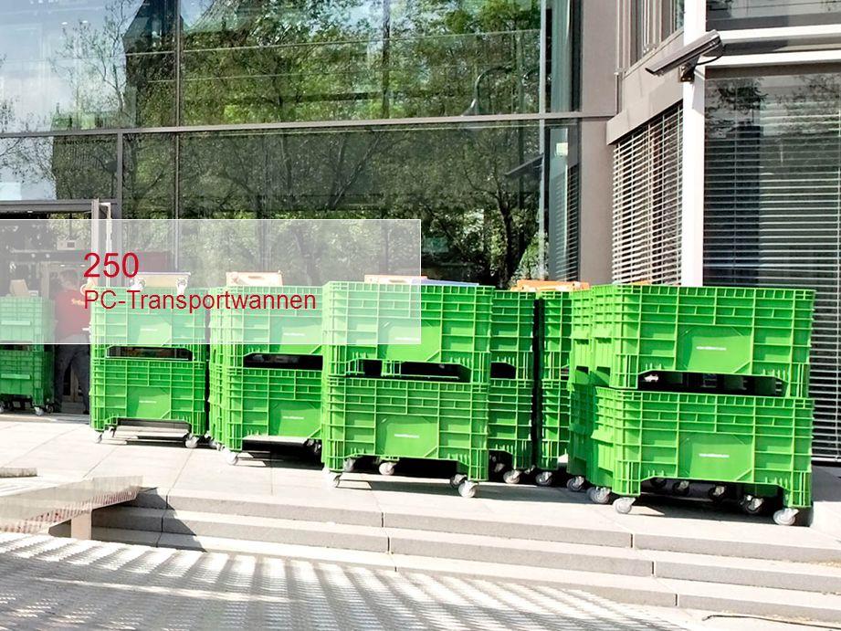 250 PC-Transportwannen