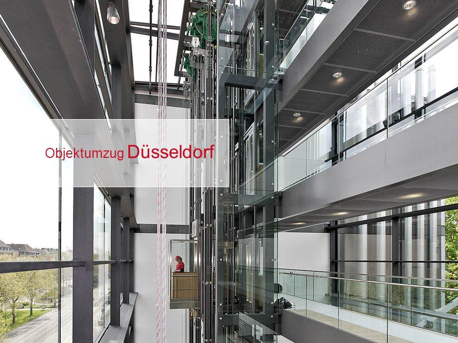 Objektumzug Düsseldorf