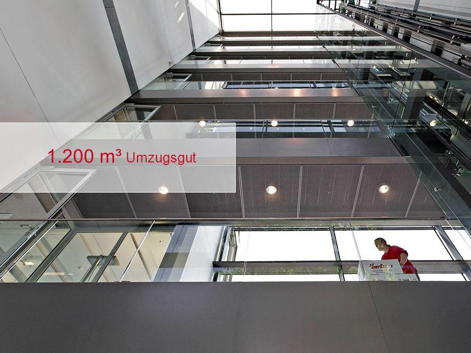 1.200 m³ Umzugsgut