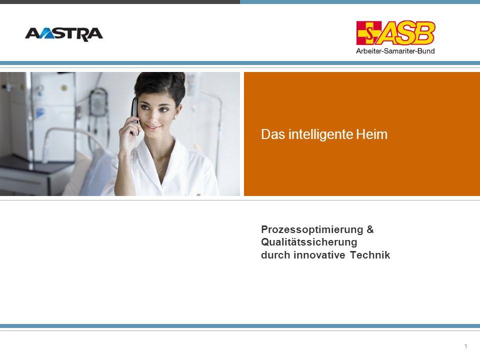 2© 2010 Aastra Deutschland GmbH Das Projekt wurde gefördert »vom Bundesministerium für Familie, Senioren, Frauen und Jugend (BMFSFJ) »vom Landesministerium für Arbeit, Soziales, Gesundheit, Familie und Frauen (RLP) »vom ASB Bundesverband