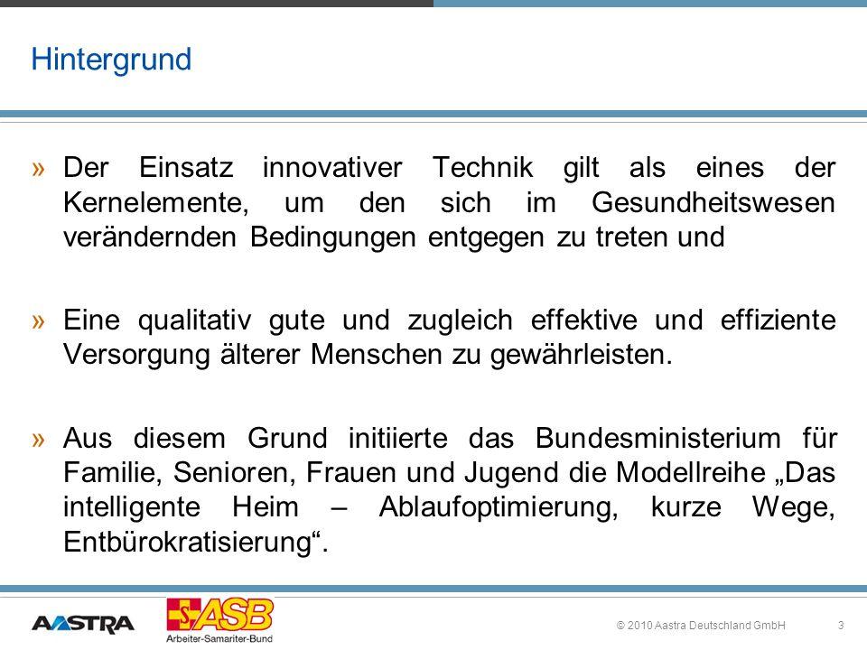 3 Hintergrund »Der Einsatz innovativer Technik gilt als eines der Kernelemente, um den sich im Gesundheitswesen verändernden Bedingungen entgegen zu t