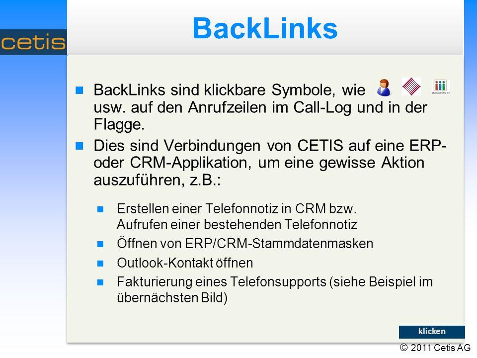 BackLinks BackLinks sind klickbare Symbole, wie usw.