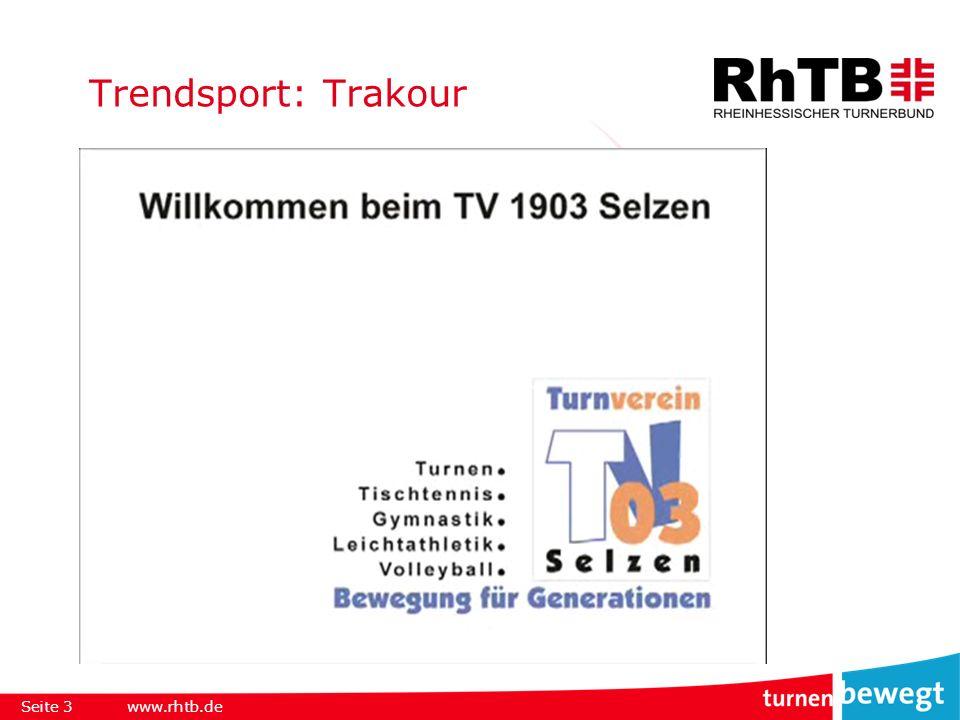 Trendsport: Slackline Seite 4www.rhtb.de
