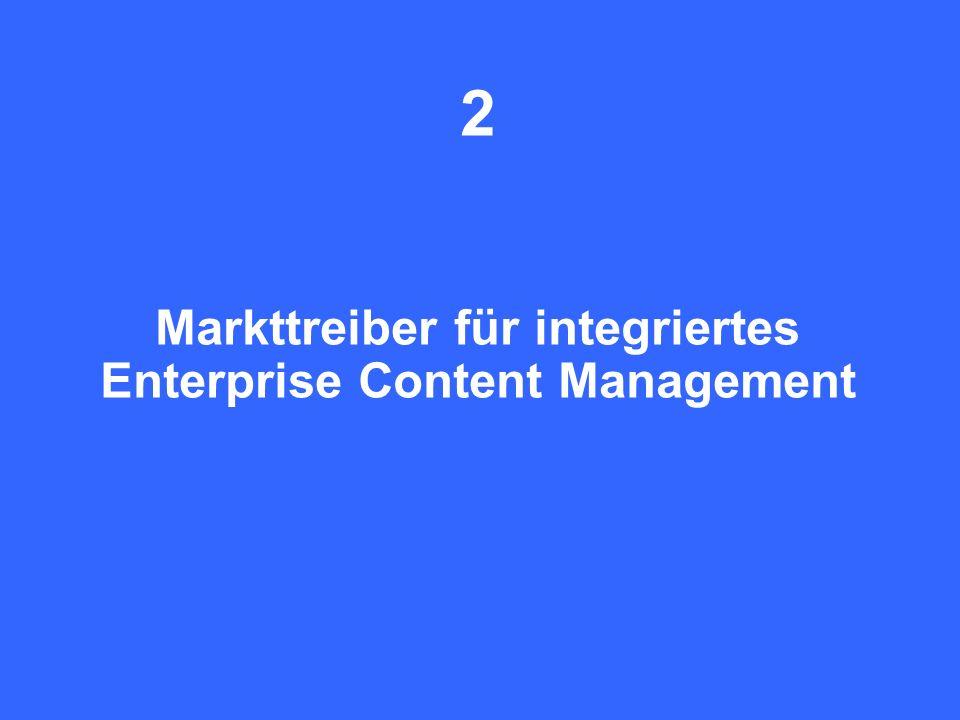 12 CIO Dialog Von ECM zu EIM Dr. Ulrich Kampffmeyer PROJECT CONSULT Unternehmensberatung Dr. Ulrich Kampffmeyer GmbH Breitenfelder Straße 17 20251 Ham