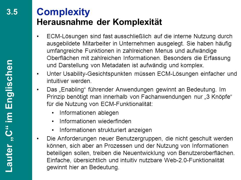 44 CIO Dialog Von ECM zu EIM Dr. Ulrich Kampffmeyer PROJECT CONSULT Unternehmensberatung Dr. Ulrich Kampffmeyer GmbH Breitenfelder Straße 17 20251 Ham