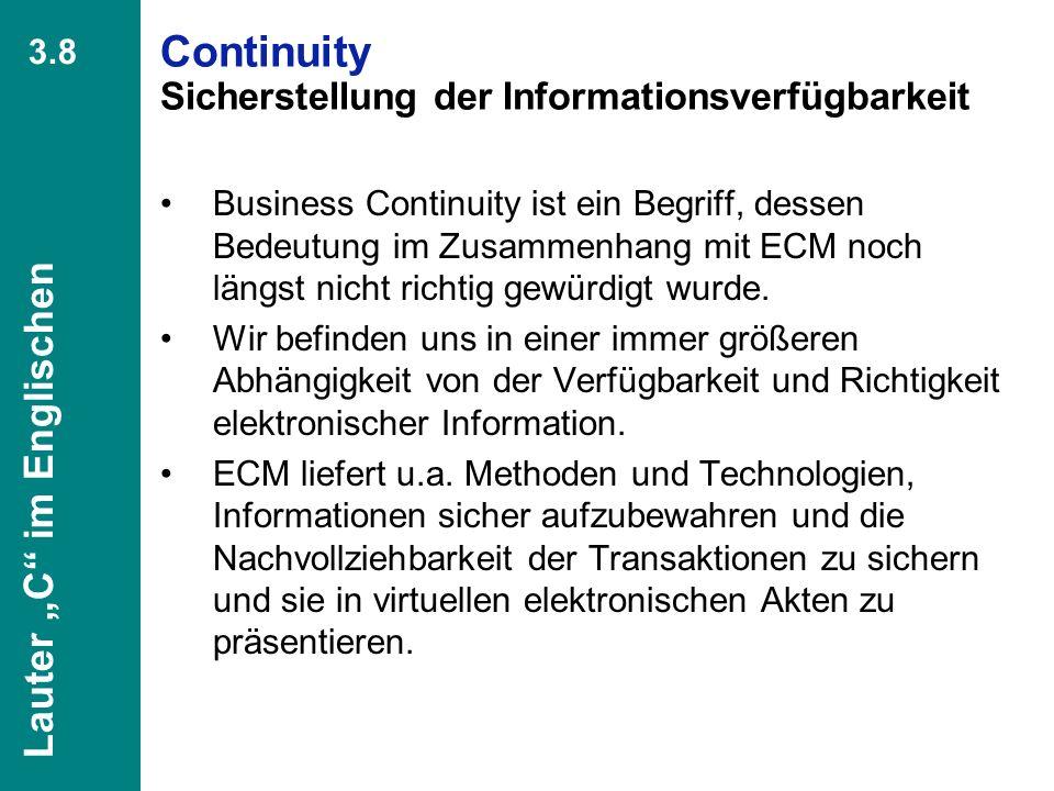 47 CIO Dialog Von ECM zu EIM Dr. Ulrich Kampffmeyer PROJECT CONSULT Unternehmensberatung Dr. Ulrich Kampffmeyer GmbH Breitenfelder Straße 17 20251 Ham