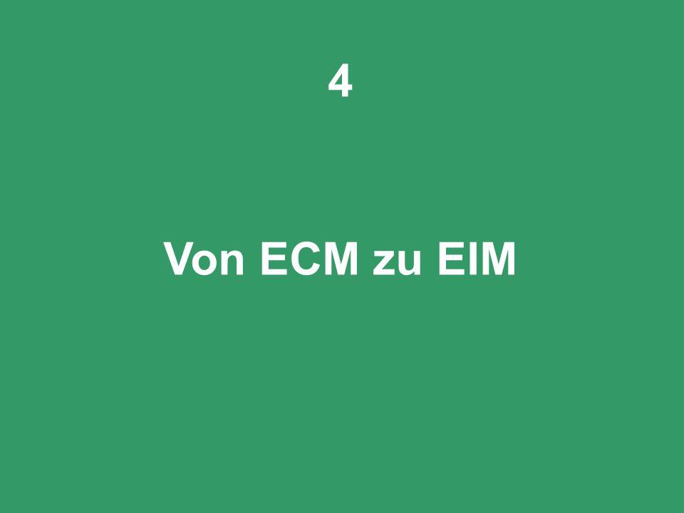 53 CIO Dialog Von ECM zu EIM Dr. Ulrich Kampffmeyer PROJECT CONSULT Unternehmensberatung Dr. Ulrich Kampffmeyer GmbH Breitenfelder Straße 17 20251 Ham