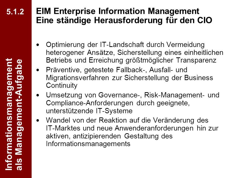 67 CIO Dialog Von ECM zu EIM Dr. Ulrich Kampffmeyer PROJECT CONSULT Unternehmensberatung Dr. Ulrich Kampffmeyer GmbH Breitenfelder Straße 17 20251 Ham