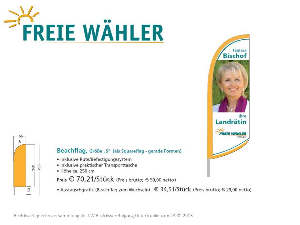 Danke für eure Aufmerksamkeit Bezirksdelegiertenversammlung der FW Bezirksvereinigung Unterfranken am 23.02.2013