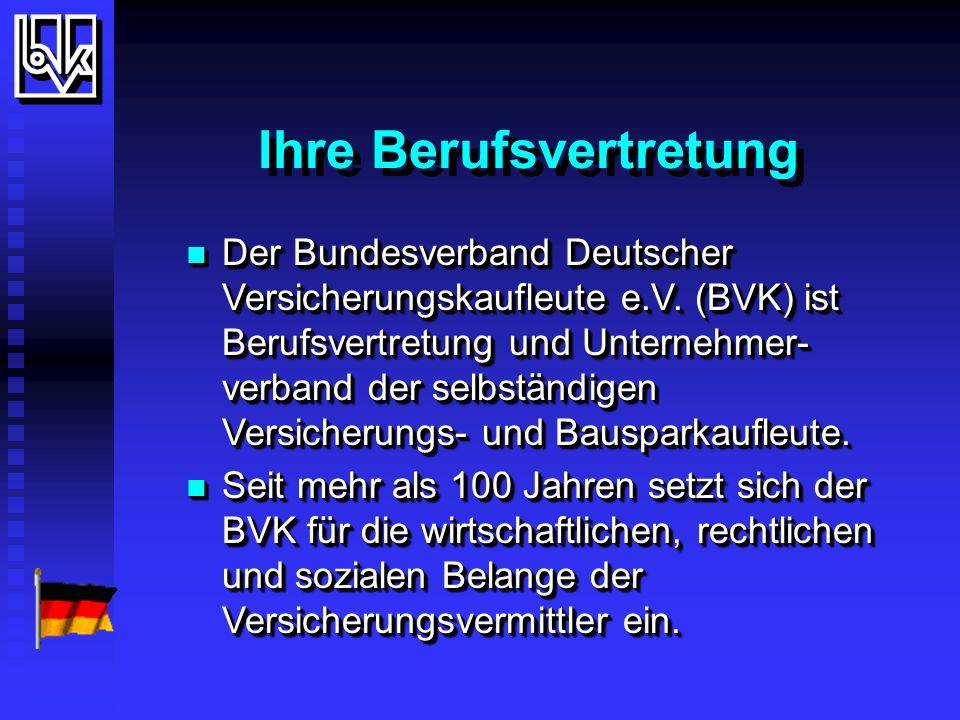 Es gibt also gute Gründe......Mitglied im BVK zu sein,...