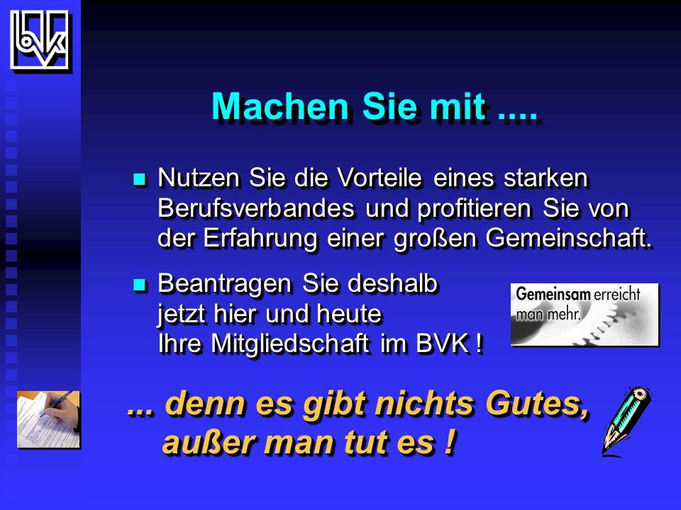 Gesucht - und gefunden . BVK - Bundesverband Deutscher Versicherungskaufleute e.V.