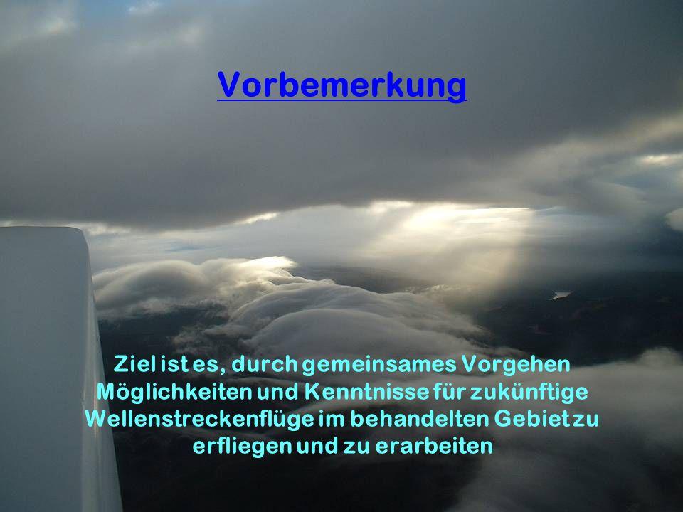 WIND ZR 240/480km ZR 230/460 km ZR 160/320 km Streckenführungen und Entfernungsangaben bei Ziel- oder Zielrückkehrflugaufgaben 23.10.10 Zitat Rainer Fröhlich: …..Lenti, die sich zw.