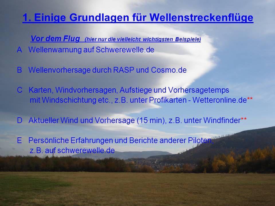 Beispiel 1 für Treffsicherheit der Vorhersage IGC Dateien 23.10.10 von Jens Rickmer Bothe (Goslar) und Ralf Teichert (Northeim)