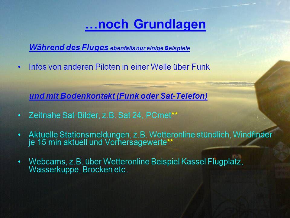 Vorflug Richtung Meißner am Beispiel 14.11.2009 mit der BA ASH25/26e von Jens und Johnny dargestellt in den RASP-Karten Ca.
