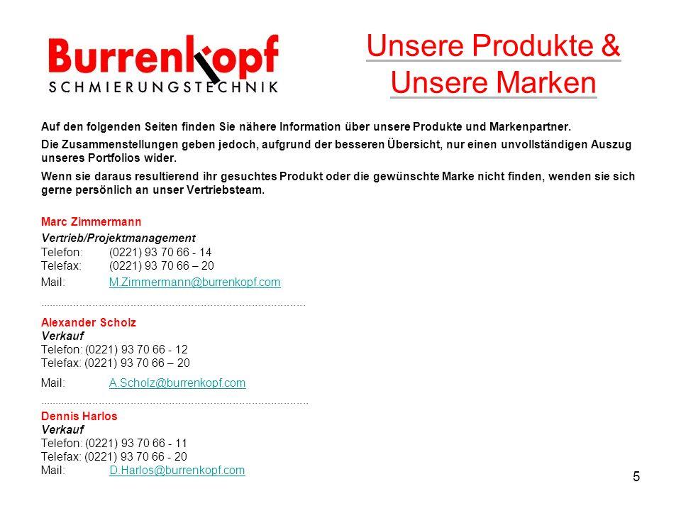 Auf den folgenden Seiten finden Sie nähere Information über unsere Produkte und Markenpartner.
