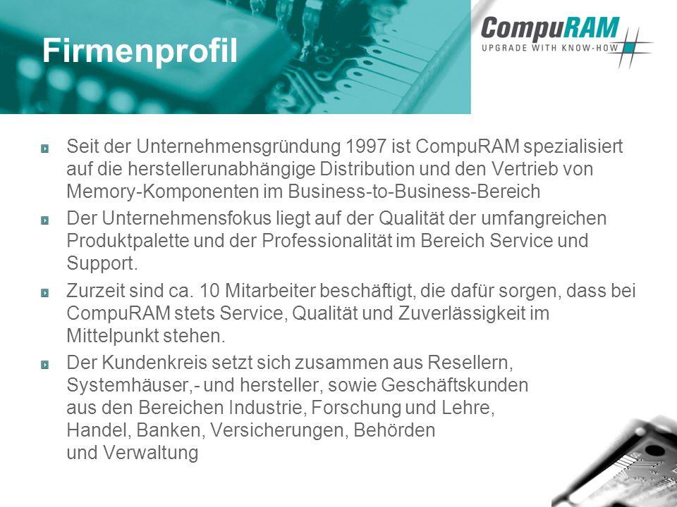 3 - 30pin, 72pin SIMM - 100pin, 144pin, 172pin, 200pin 208pin, 232pin, 240pin DIMM und SO-DIMM - FPM, EDO, SDRAM, Rambus, DDR, DDR2 Technologie - Flashmemory - End-of-Life-Produkte - Acer - Apple - Asus - Cisco - Dell - Digital - Fujitsu-Siemens - HP-Compaq - IBM - INTEL Corp.