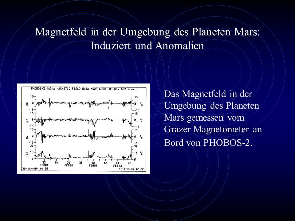 Das Magnetfeld in der Umgebung des Planeten Mars gemessen vom Grazer Magnetometer an Bord von PHOBOS-2.