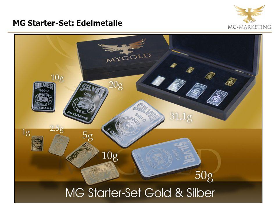 MG Starter-Set: Edelmetalle