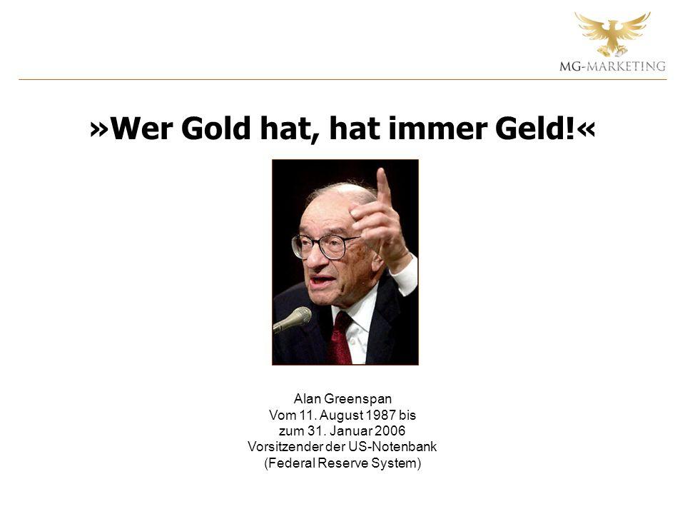 Alan Greenspan Vom 11. August 1987 bis zum 31.