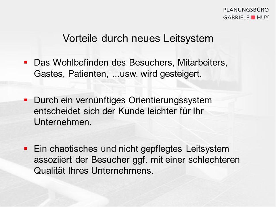 Planung eines neuen Leitsystems am Beispiel des Klinikum Landshut Analyse der Ist-Situation vor Ort als Ausgangsbasis für die Planung Konzeption 1.