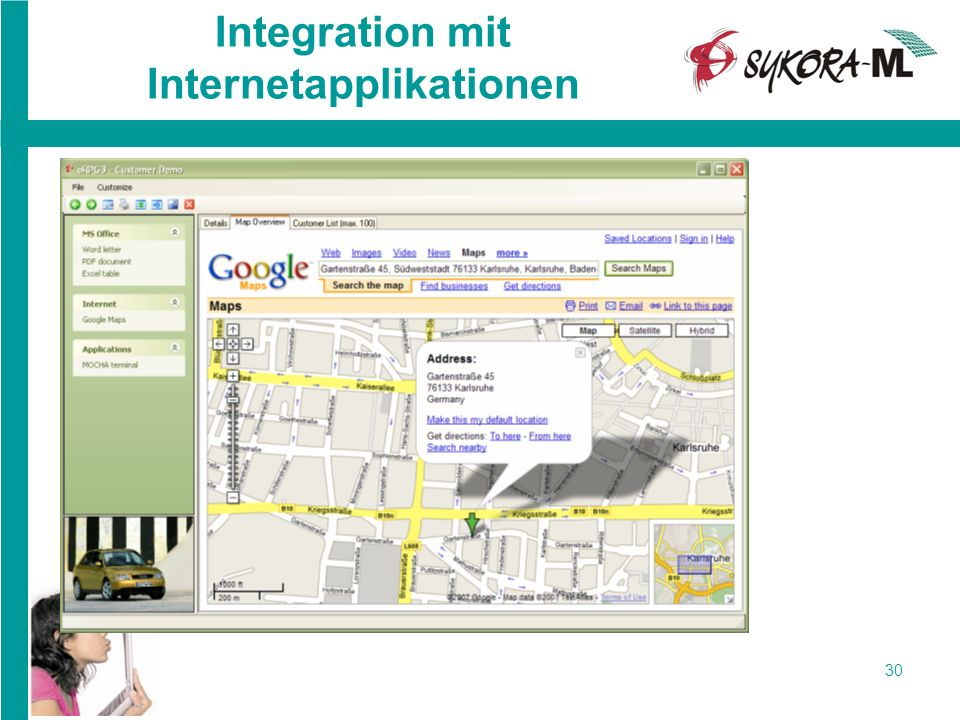 30 Integration mit Internetapplikationen