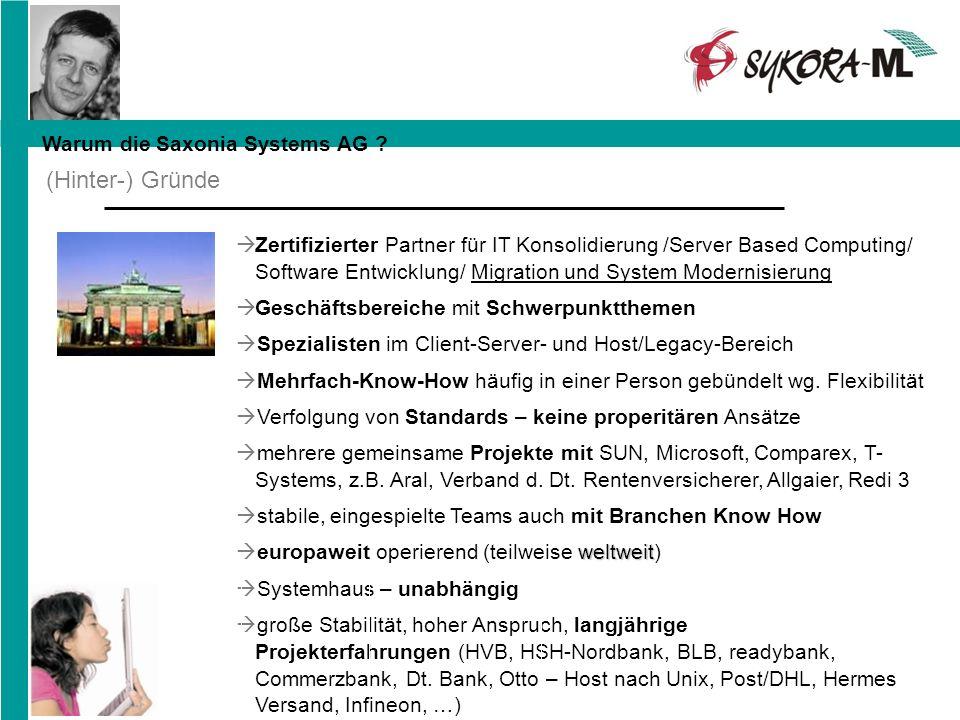 Zertifizierter Partner für IT Konsolidierung /Server Based Computing/ Software Entwicklung/ Migration und System Modernisierung Geschäftsbereiche mit