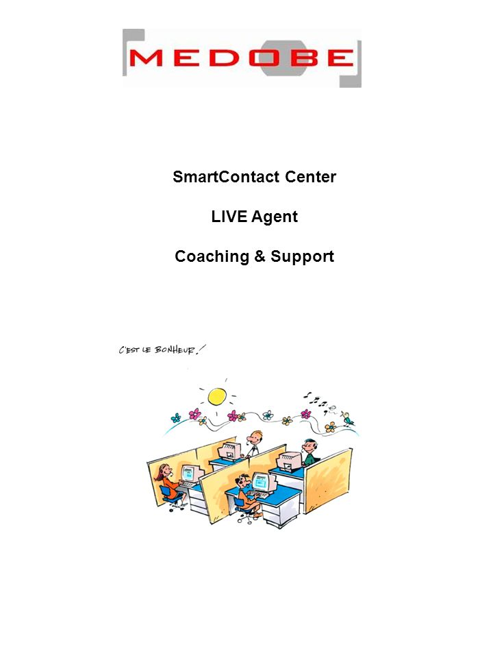 SmartContact Center LIVE Agent Coaching & Support