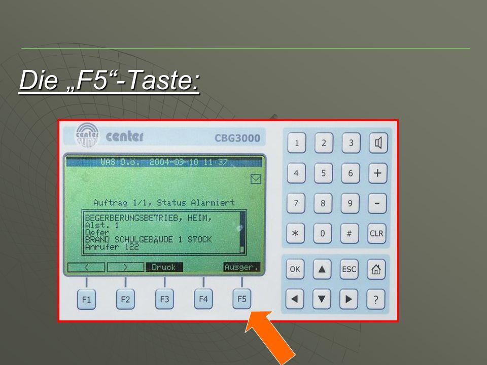 Die F5-Taste: