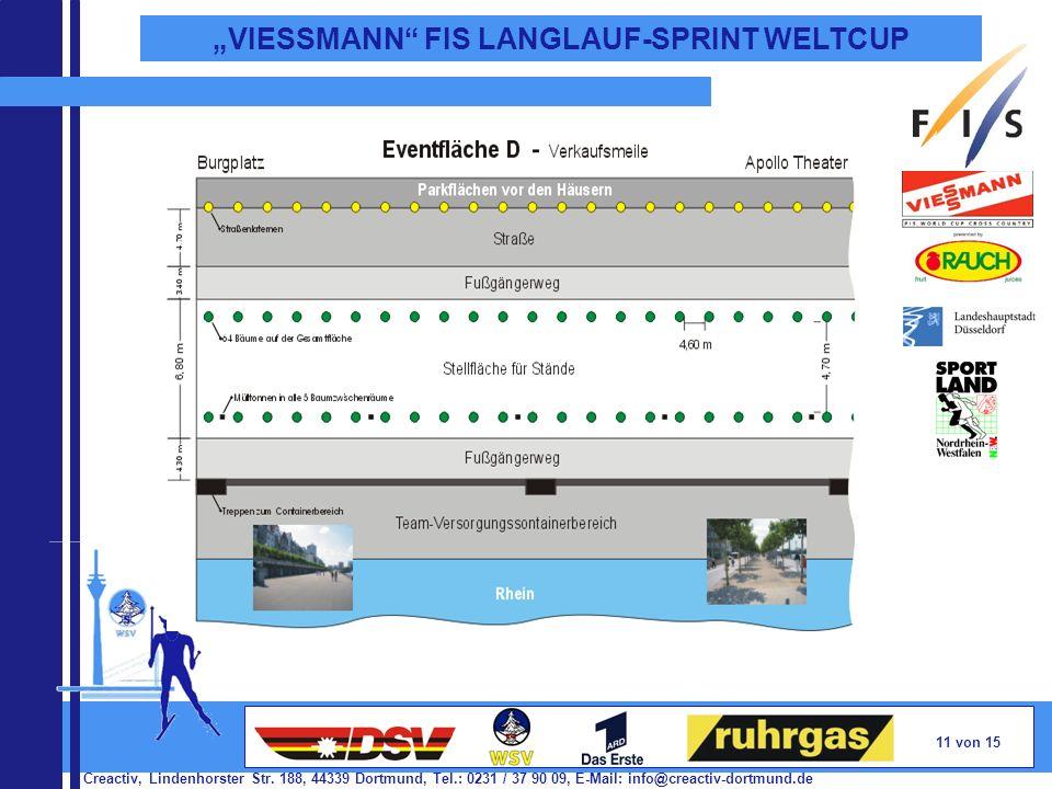 Creactiv, Lindenhorster Str. 188, 44339 Dortmund, Tel.: 0231 / 37 90 09, E-Mail: info@creactiv-dortmund.de 11 von 15 VIESSMANN FIS LANGLAUF-SPRINT WEL