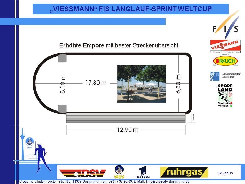Creactiv, Lindenhorster Str. 188, 44339 Dortmund, Tel.: 0231 / 37 90 09, E-Mail: info@creactiv-dortmund.de 12 von 15 VIESSMANN FIS LANGLAUF-SPRINT WEL