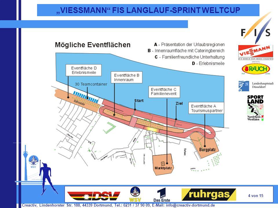 Creactiv, Lindenhorster Str. 188, 44339 Dortmund, Tel.: 0231 / 37 90 09, E-Mail: info@creactiv-dortmund.de 4 von 15 VIESSMANN FIS LANGLAUF-SPRINT WELT