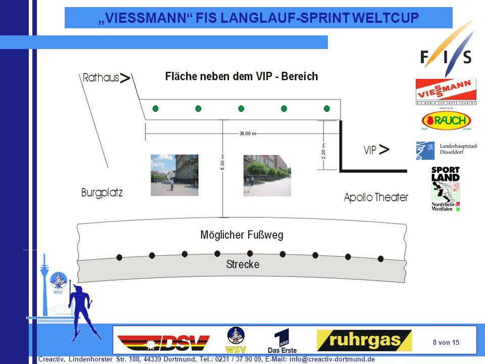 Creactiv, Lindenhorster Str. 188, 44339 Dortmund, Tel.: 0231 / 37 90 09, E-Mail: info@creactiv-dortmund.de 8 von 15 VIESSMANN FIS LANGLAUF-SPRINT WELT