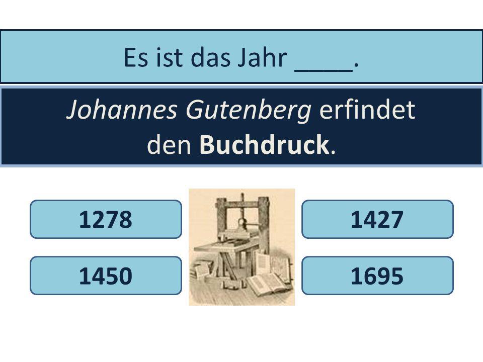 Es ist das Jahr 1941. Konrad Zuse erfindet den _____________. FernseherLautsprecherComputer