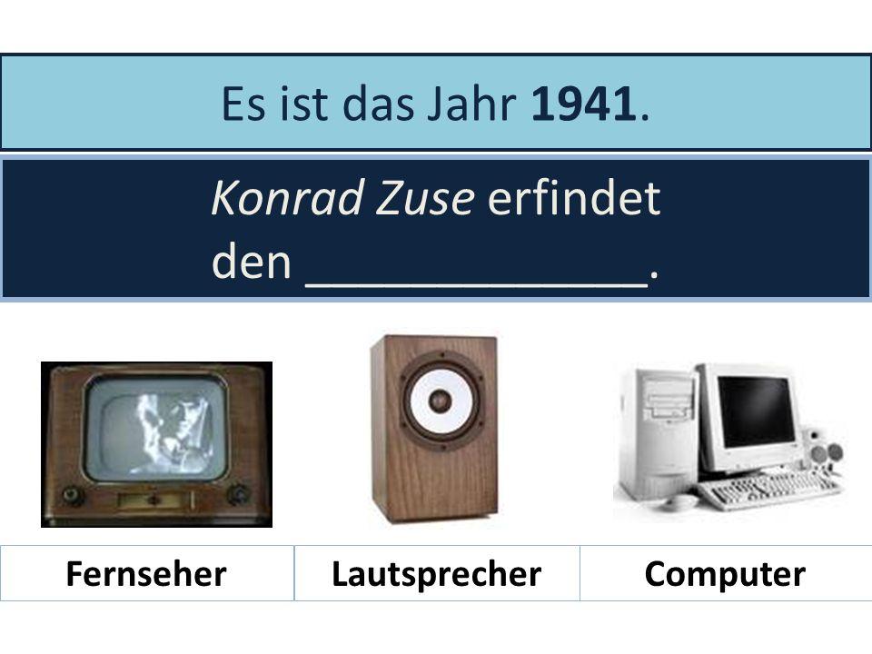 Es ist das Jahr ____. Manfred von Ardenne erfindet den Fernseher. 18701930 18991947