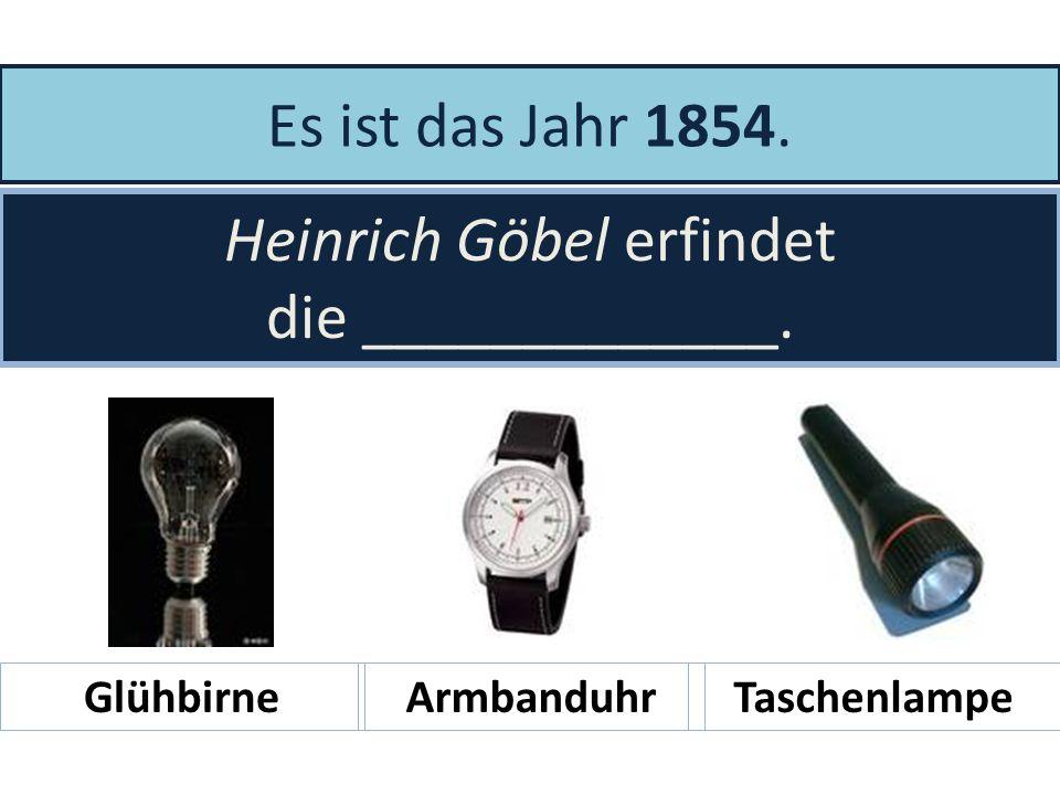 Es ist das Jahr ____. Heinrich Focke erfindet den Hubschrauber. 19371965 18841792
