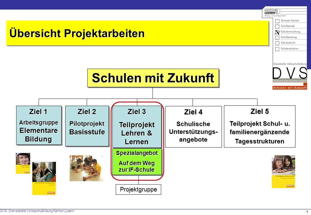 DVS, Dienststelle Volksschulbildung Kanton Luzern 5 Schulentwicklung Unterrichtsentwicklung Wer den Unterricht verändern will, muss mehr als den Unterricht verändern.