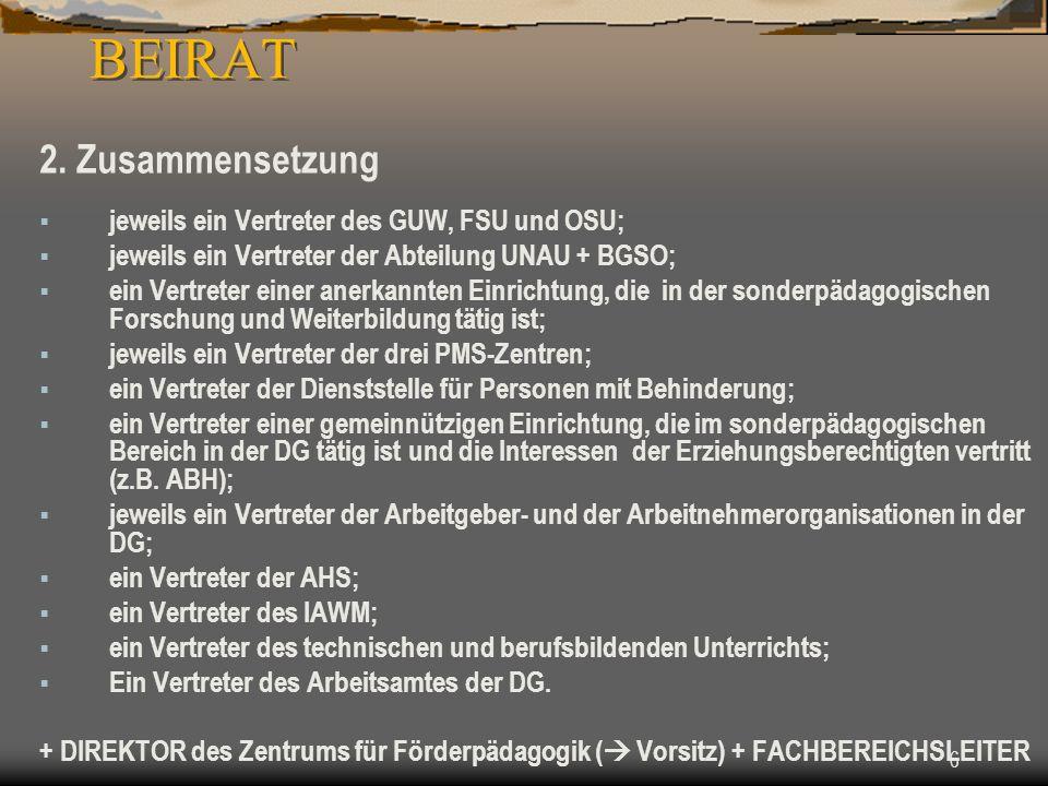 6 BEIRAT 2.