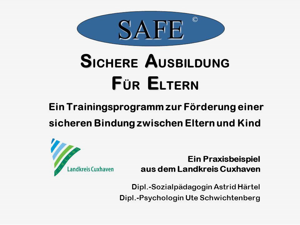 Entwickelt wurde SAFE von Dr.med. Karl Heinz Brisch Kinderklinik und Kinderpoliklinik im Dr.