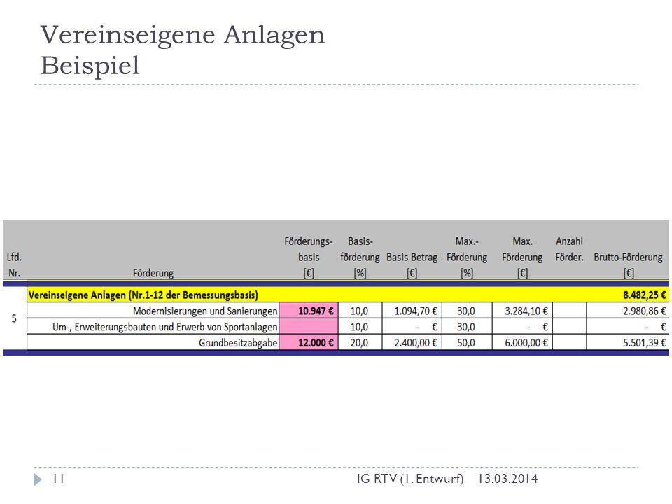 Vereinseigene Anlagen Beispiel 13.03.2014IG RTV (1. Entwurf)11