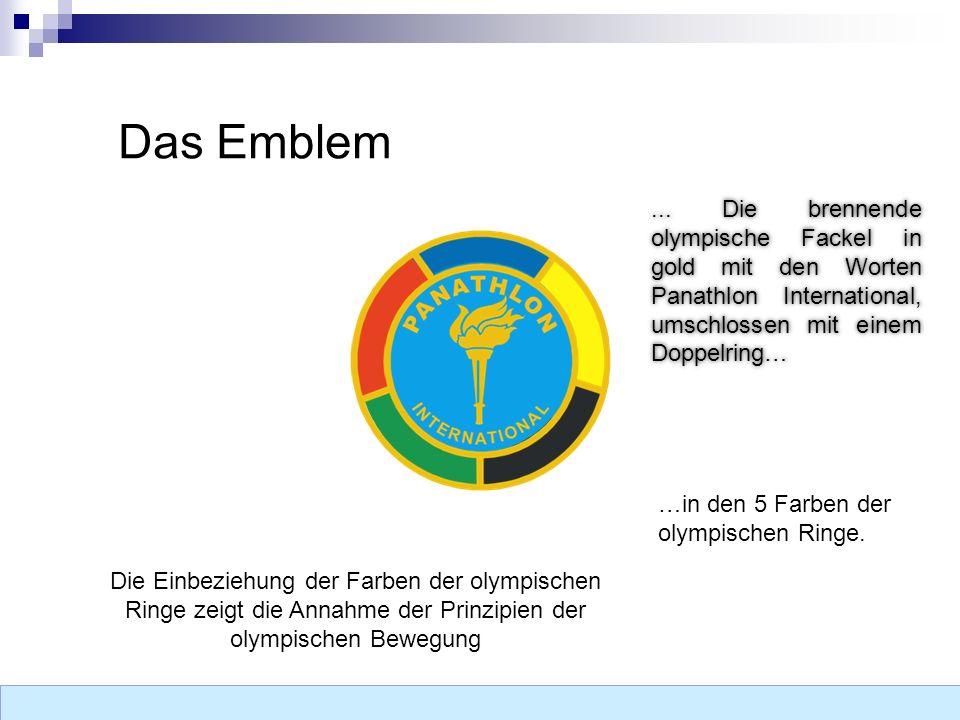 Das Emblem...