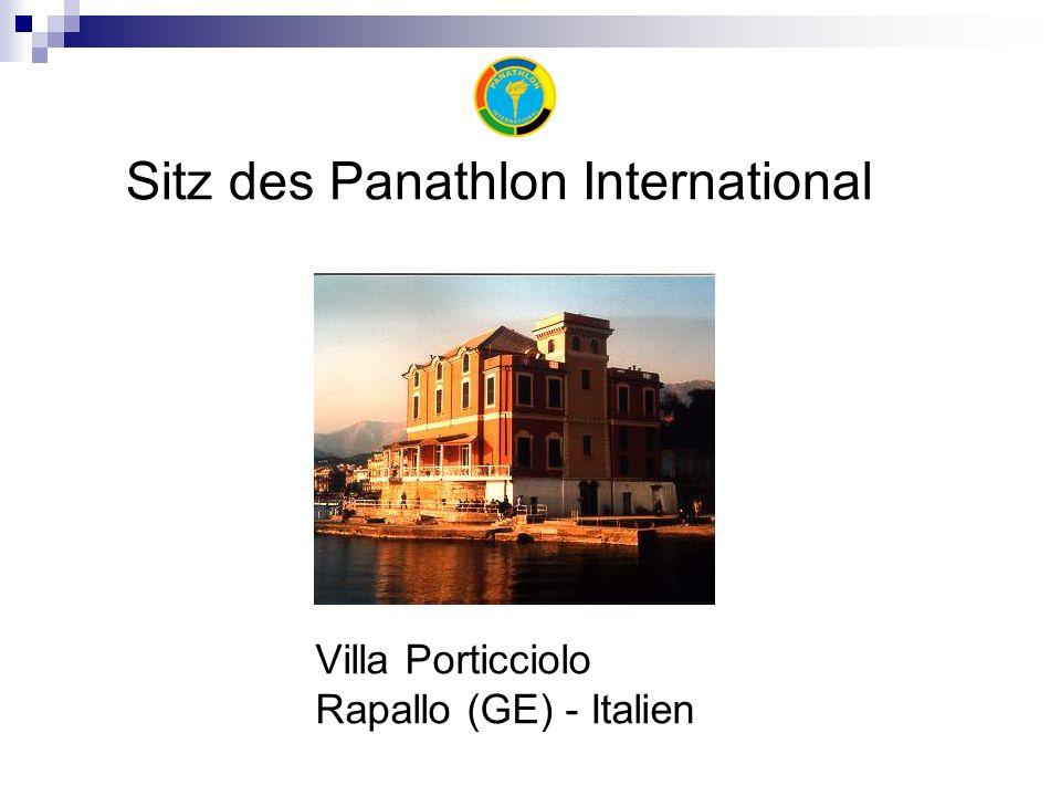 Villa Porticciolo Rapallo (GE) - Italien Sitz des Panathlon International