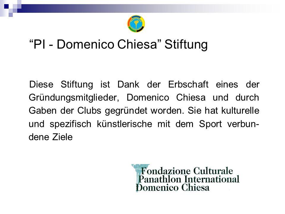 Diese Stiftung ist Dank der Erbschaft eines der Gründungsmitglieder, Domenico Chiesa und durch Gaben der Clubs gegründet worden.