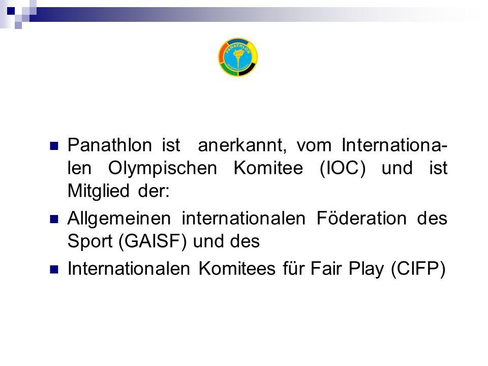 Ethik Der Grundstein der panathletischen Bewegung Panathlon ist eine Weltorganisation zur Förderung des Sports.