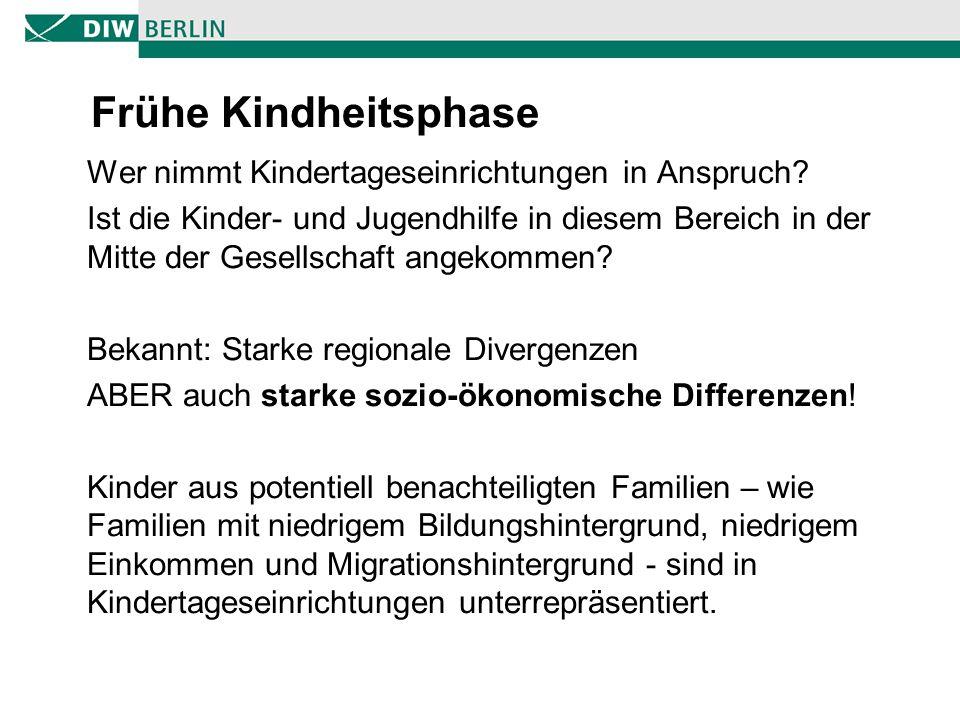 Bildungsungleichheiten - Zeitliche Trends 9 Quelle: Krapf und Kreyenfeld (2010)