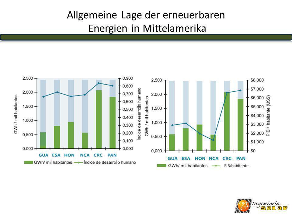 GTSVHNNICRPA Bevölkerung in Mio13,67,27,35,64,53,4 Elektrifizierung in %93,784,471,461,299,297,8 Produktion Gwh/Jahr78745695679655931306222