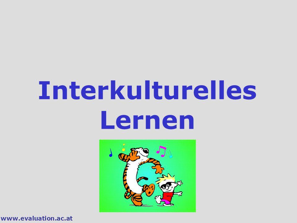 www.evaluation.ac.at Interkulturelles Lernen